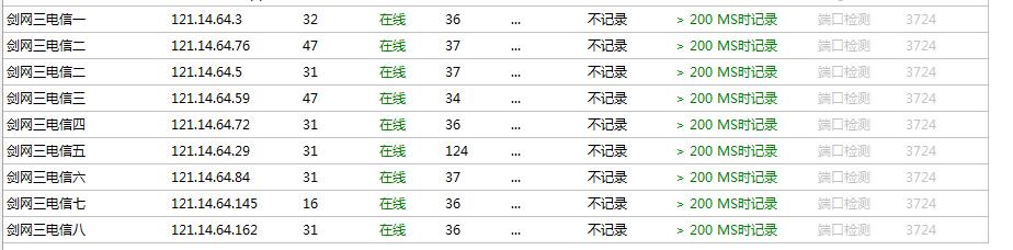 [原创软件]深蓝群Ping V3.2.1.34 多线程 多服务器PING 端口超时检测 记录日志  绿色版